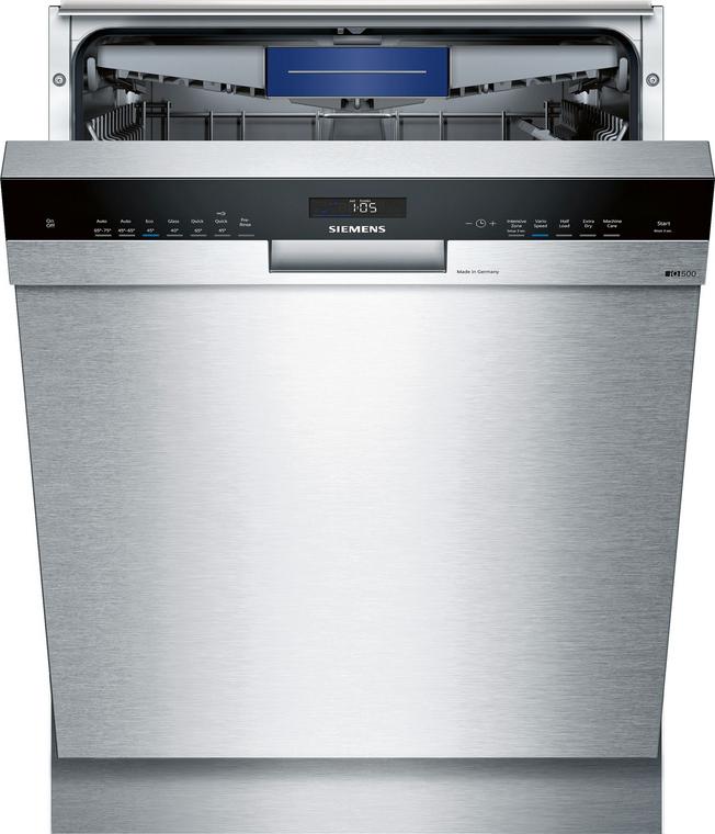 SN457S01MA - 60cm iQ500 Built-Under Dishwasher