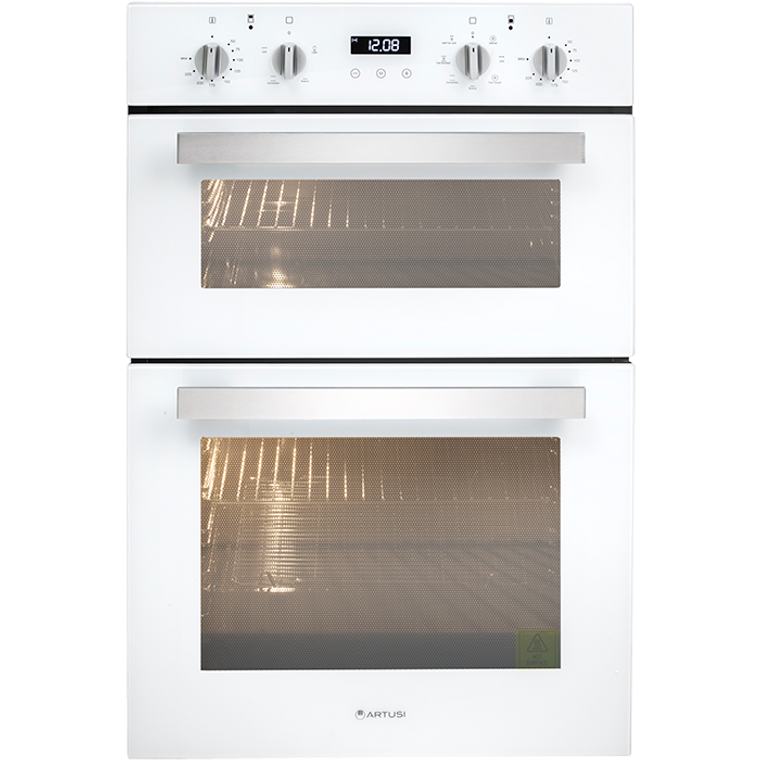 CAO888W - 60cm Built-In Multi Double Oven - White