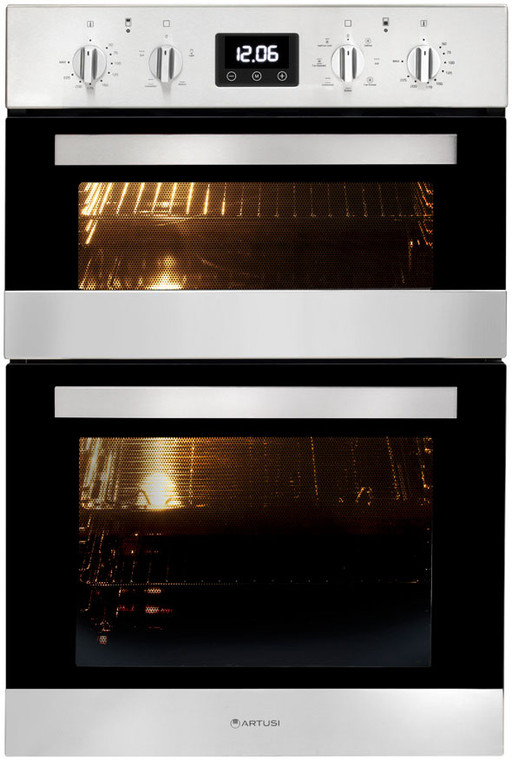 CAO888X1 - 60cm Built-in Double Electric Oven - Stainless Steel