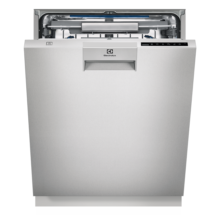 ESF8735ROX - 60cm Built-Under Dishwasher With Cutlery Tray - Stainless Steel