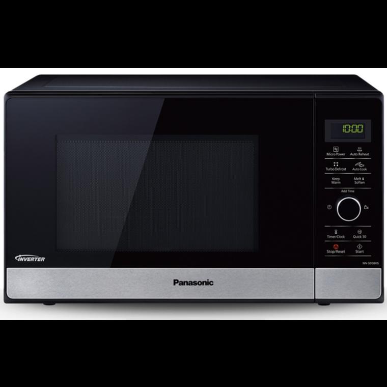 NNSD38HSQPQ - 23L Inverter Microwave Oven - Black