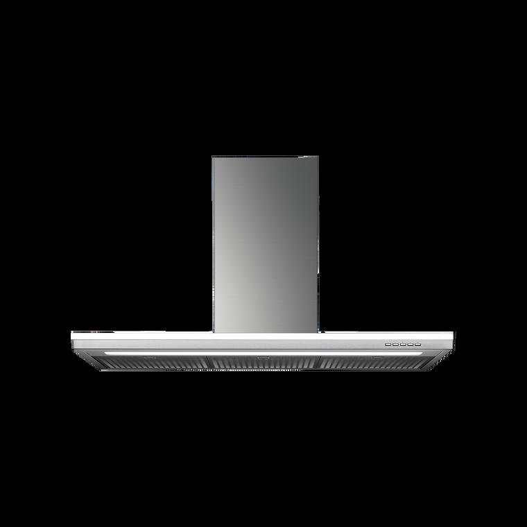 F7LM90S1 - 90cm Lumen Island Canopy Rangehood - Stainless Steel