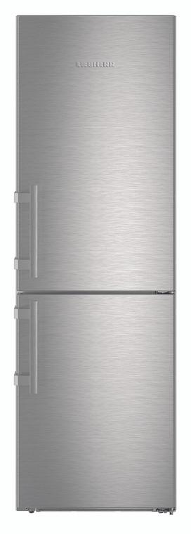 CNef4315 - 350L Comfort NoFrost Fridge-freezer - Stainless Steel