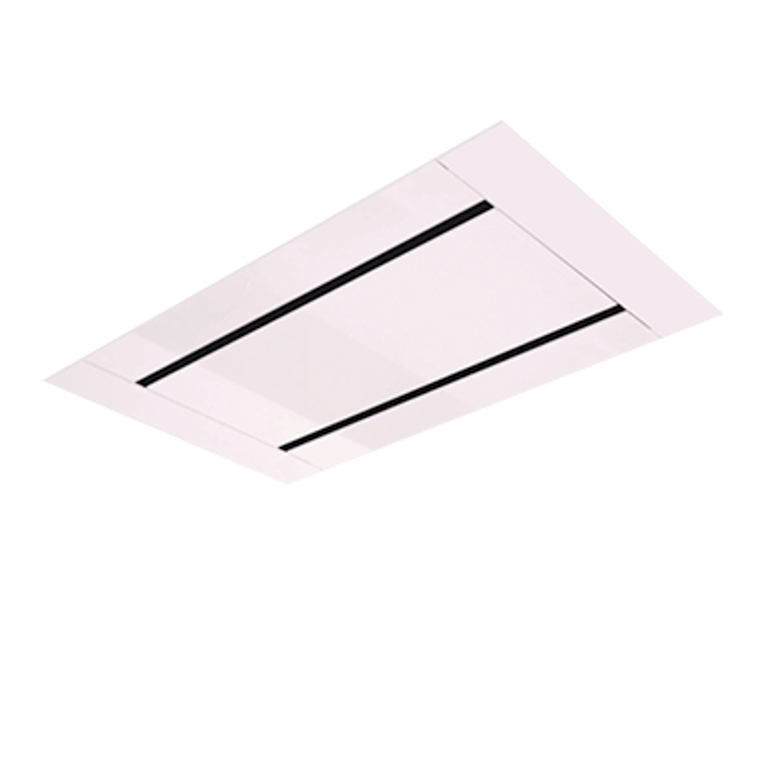 CHR1000W - 100cm Ceiling Rangehood with Remote Control - White
