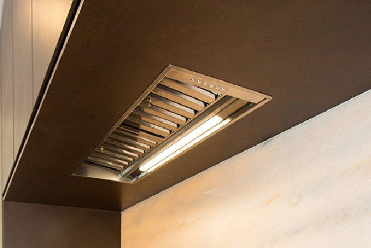 SL906-L EXCEL 850 - 85cm Twin Motor Undermount Rangehood - Stainless Steel