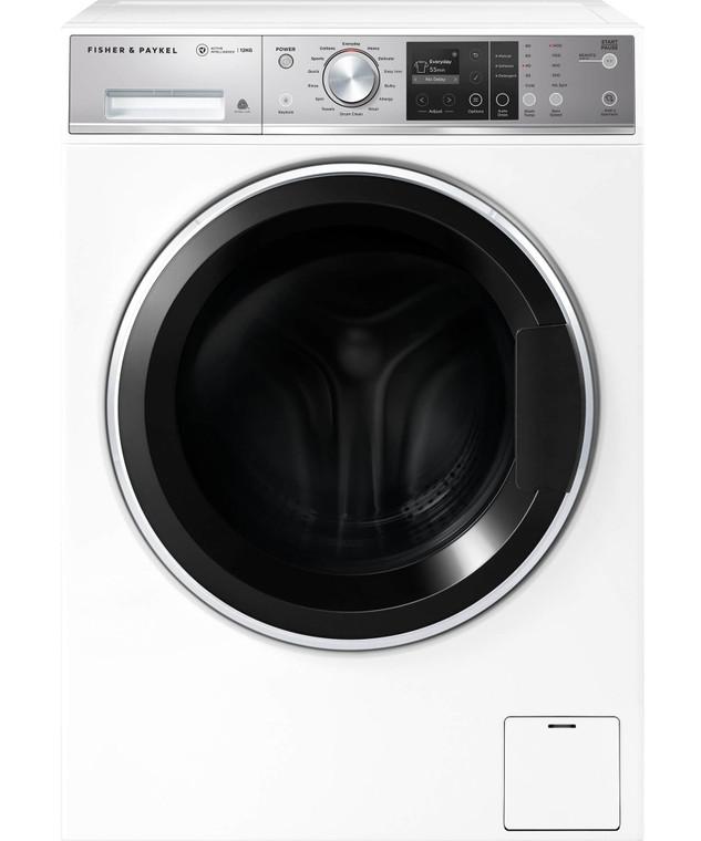 WH1260F1 - 12kg Front Loader Washing Machine - White