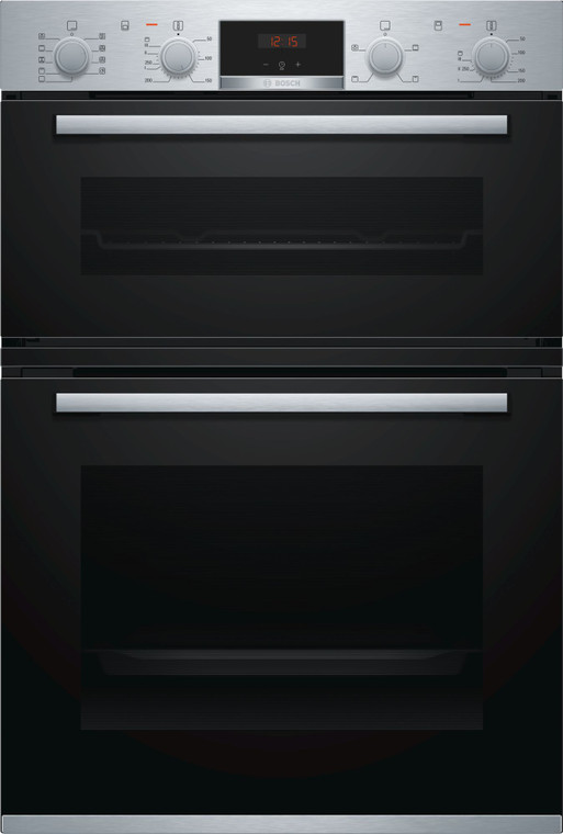 MBA534BS0A - 60cm Series 4 Multifunction Double Oven - Stainless Steel