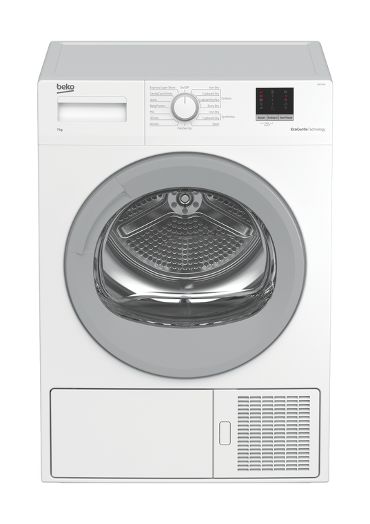 BDP700W - 7kg Sensor Controlled Heat-Pump Dryer