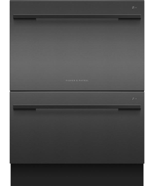DD60DDFB9 - Built-Under Double DishDrawer™ - Black Stainless Steel