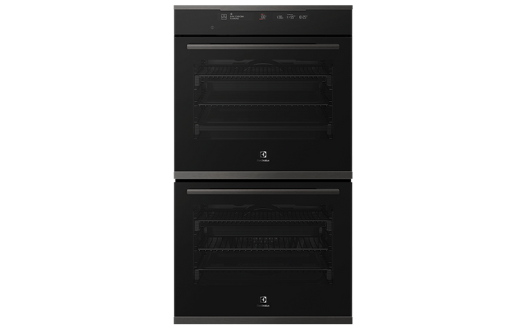 EVE636DSD - 60cm Multifunction Double Oven with Steam - Dark Stainless Steel