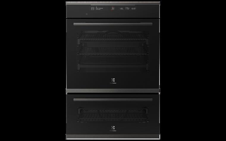 EVE626DSD - 60cm Multifunction Double Oven - Black