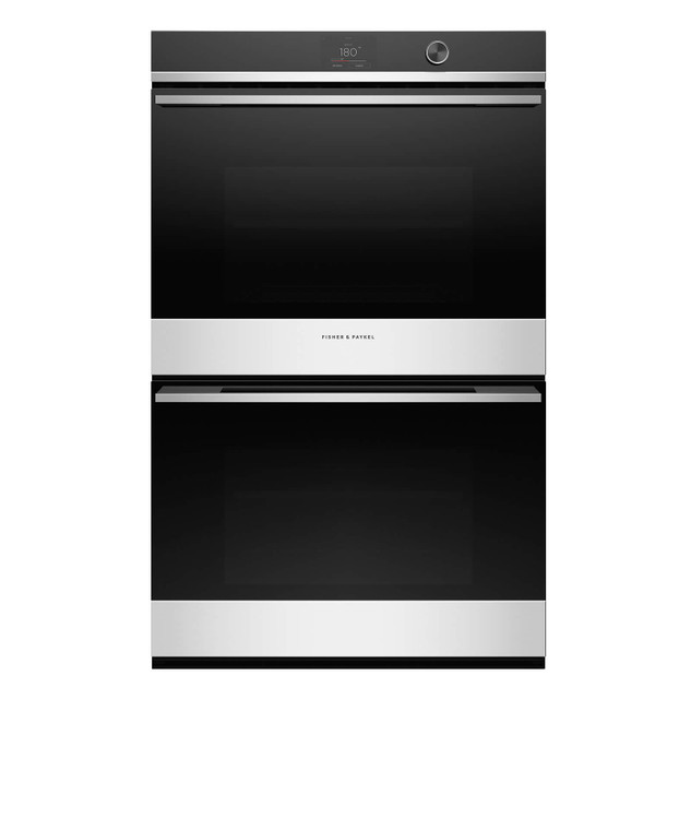 OB76DDPTDX1 - 76cm Double Built-in Oven, Pyrolytic - Stainless Steel