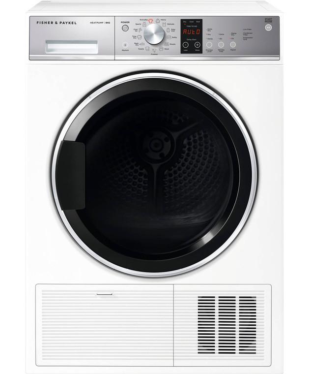 DH9060P1 - 9kg Heat Pump Condensing Dryer - White
