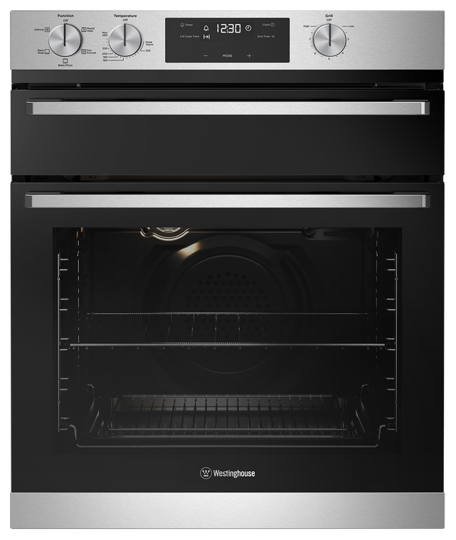 WVE655SC - 60cm Duo Multifunction Oven with Separate Grill - Stainless Steel