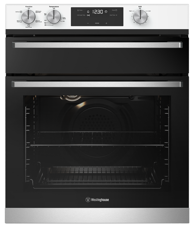 WVE655WC - 60cm Duo Multifunction Oven with Separate Grill - White