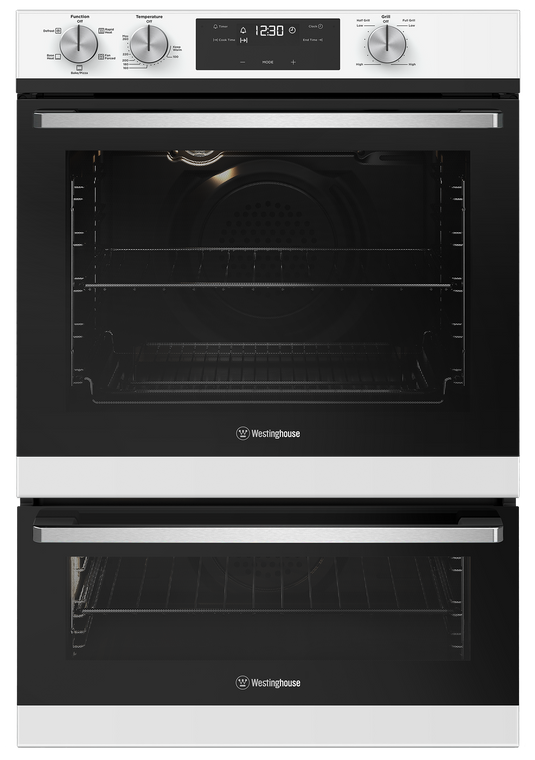WVE665WC - 60cm Duo Multifunction Oven with Separate Grill - White