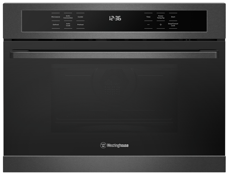 WMB4425DSC - 44L Built-In Combo Microwave with Convection Oven and Grill Function - Dark Stainless Steel