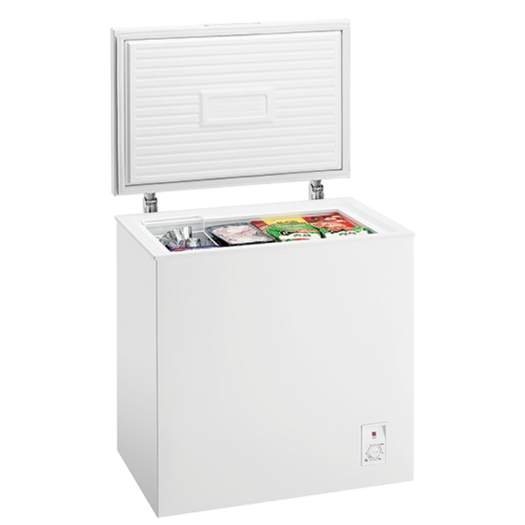 WCM1400WD - A 140 Litre Chest Freezer With A Lightweight Lid And One Removable Basket