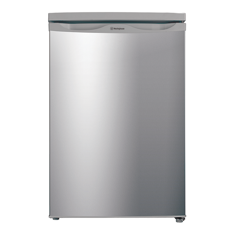 WIM1200AD - Silver Finish 124L Gross Capacity Bar Fridge With Reversible Door And In-Built Freezer