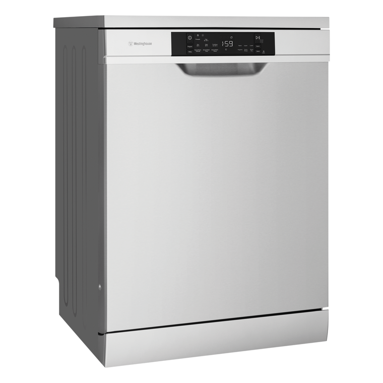 WSF6608XA - Freestanding Dishwasher with Cutlery Tray - Stainless Steel