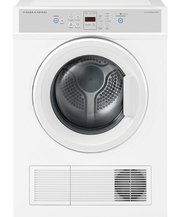 DE6060M2 - 6Kg Vented Dryer With Wall Brackets