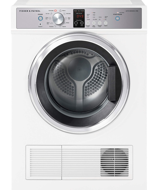DE7060P2 - 7Kg Vented Dryer With Wall Brackets