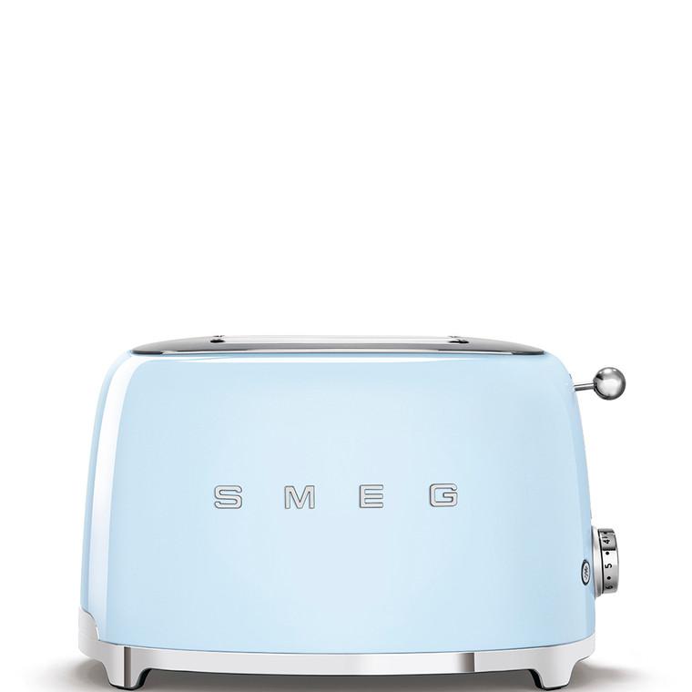 TSF01PBAU - 2 Slice Toaster, 50's Retro Style Aesthetic, PASTEL BLUE