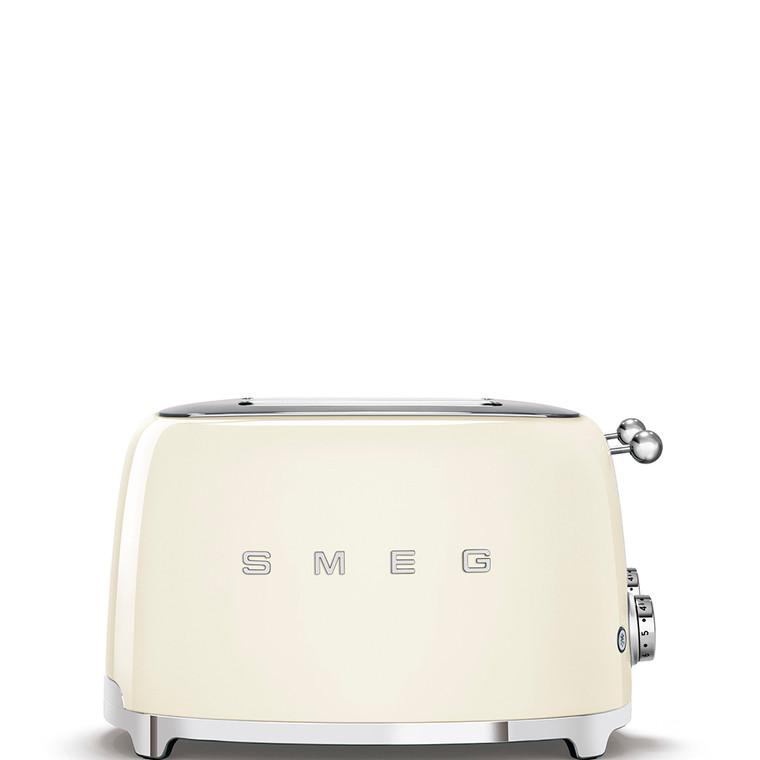 TSF03CRAU - 4 Slot Toaster, 50'S Retro Style Aesthetic, CREAM