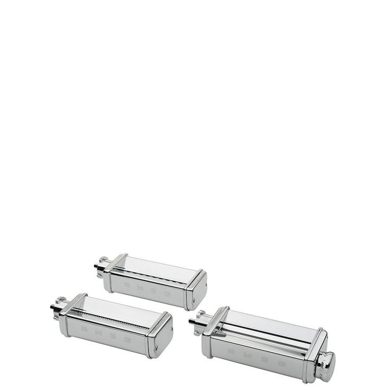 SMPC01 - SMEG Stand Mixer Pasta Roller And Pasta Cutter Triple ACCESSORY Set (Fettuccine, Tagliolini)