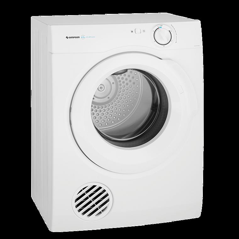 SDV457HQWA - 4.5Kg Vented Tumble Dryer - White