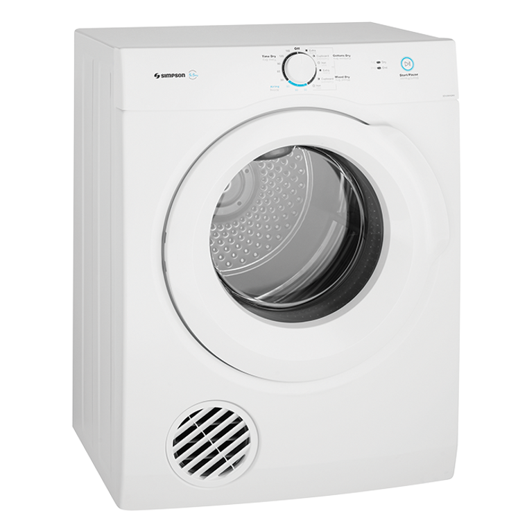 SDV556HQWA - 5.5Kg Vented Tumble Dryer - White