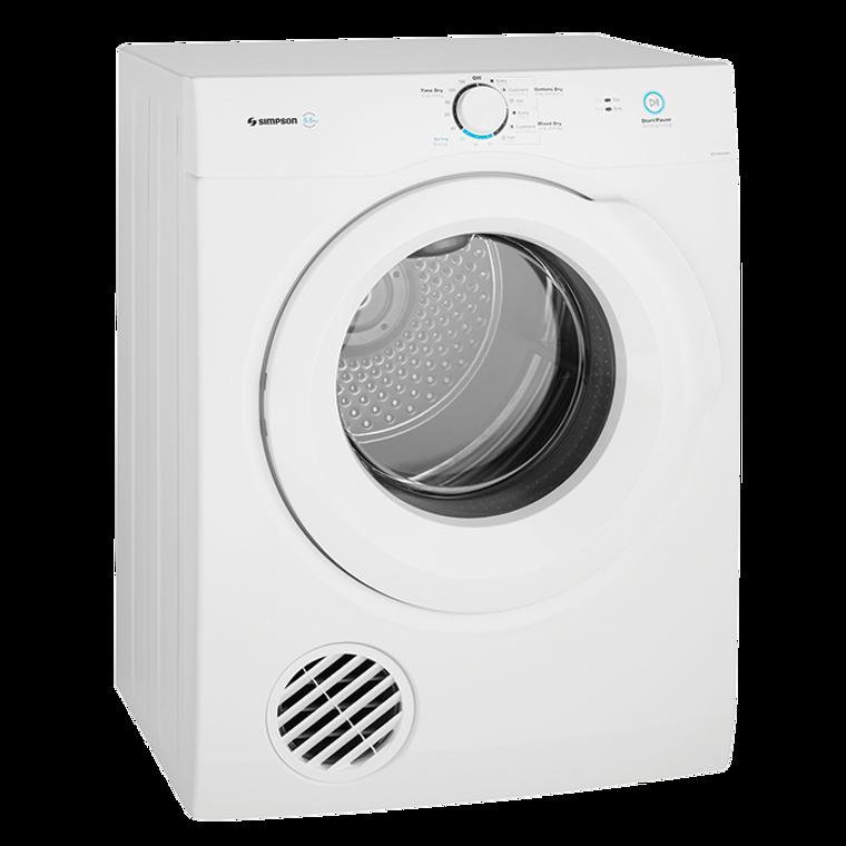 SDV656HQWA - 6.5Kg Vented Tumble Dryer - White