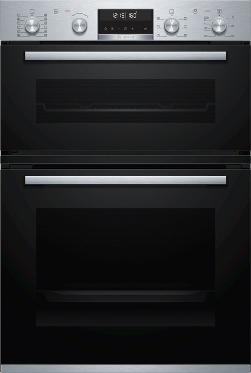 MBG5787S0A - 60cm Series 6 Multifunction Double Oven, Pyrolytic Cleaning - Stainless Steel