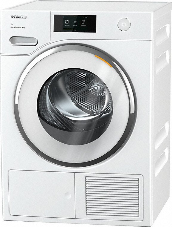 TWR860WP - 9kg Heat Pump Dryer With Steam Finish