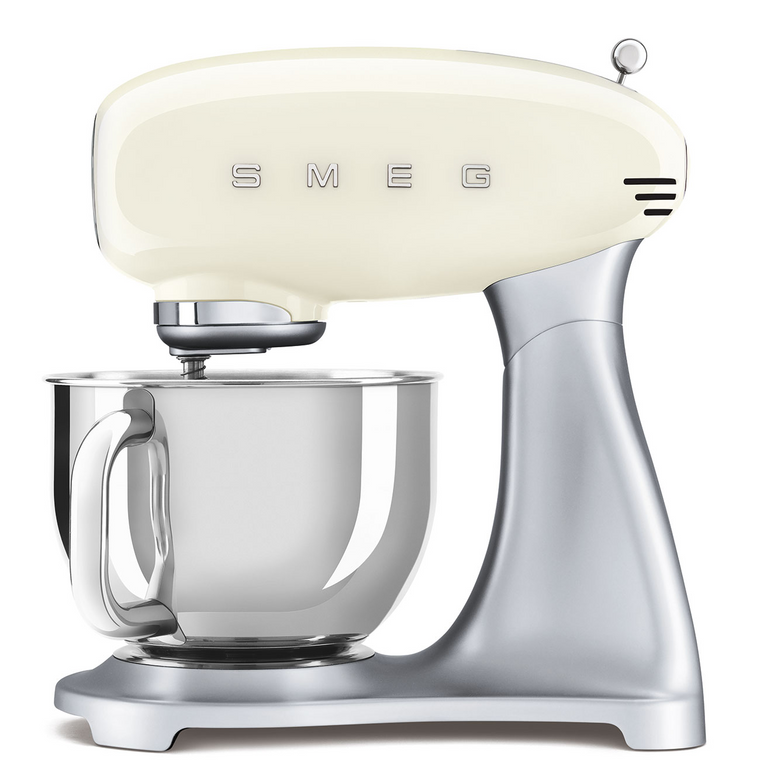 SMF02CRAU - Stand Mixer, 50's Retro Style, ALL CREAM
