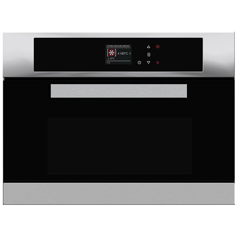 ACM45X - 45cm Built-In Compact Multi Oven With Microwave and Grill - Stainless Steel