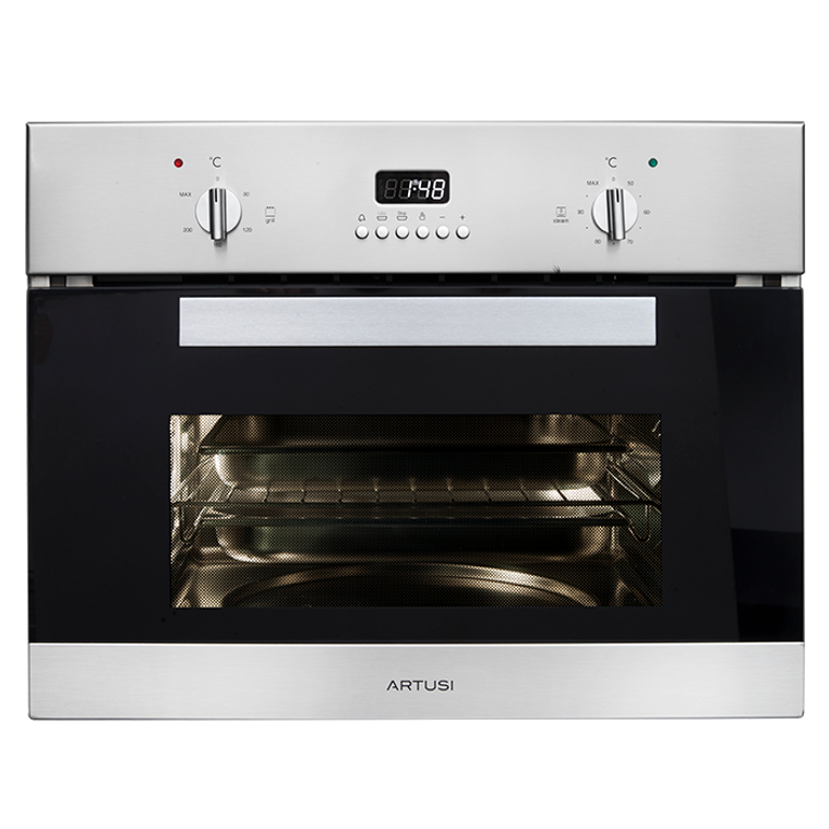ACSO45X - 45cm Compact Steam Multi Oven With Grill - Stainless Steel