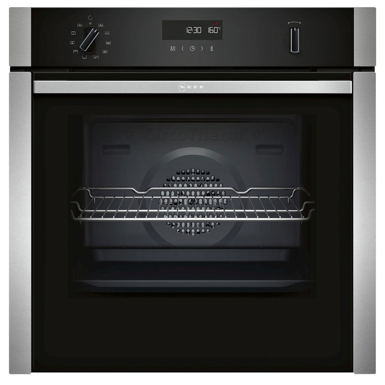 B6ACH7AN0A - 60cm Multifunction Oven, Pyrolytic Cleaning - Stainless Steel