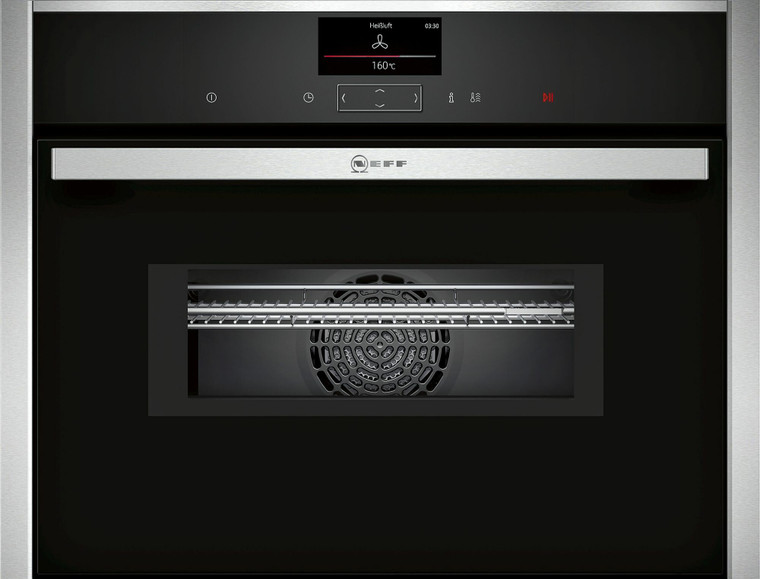 C27MS22H0B - 45cm Compact Multi Oven with Microwave and Pyrolytic Cleaning - Stainless Steel