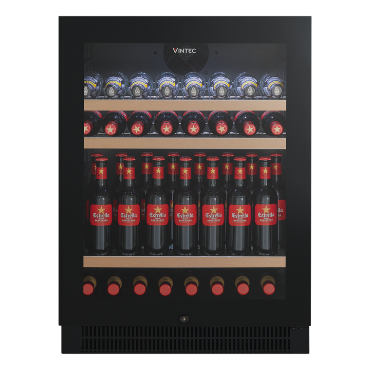 VBS050SBB-X - 100 Bottle Beverage Centre - Black