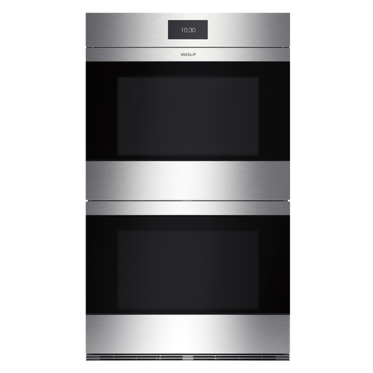 ICBDO30CMS - 76cm Contemporary M Series Double Multifunction Pyrolytic Oven, Handless - Stainless Steel