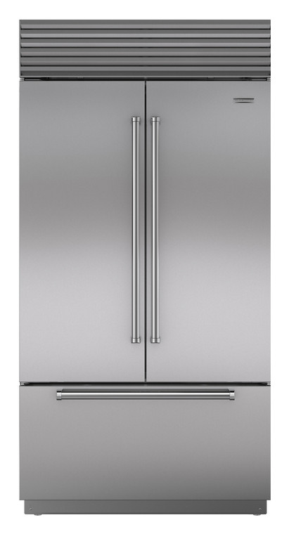 ICBBI42UFDIDSPH - 774L Built In Classic French Door Fridge with Internal Water Dispenser & Ice Maker, Pro Handle - Stainless Steel