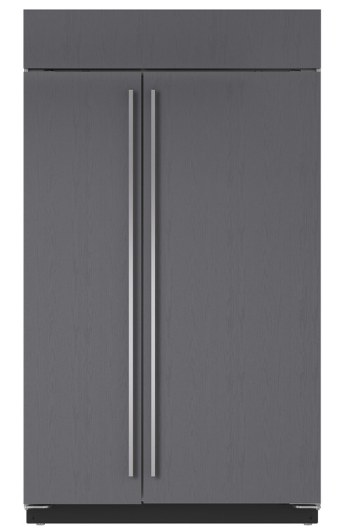 ICBBI48SO - 883L Integrated Classic Side by Side Fridge with Internal Ice Maker