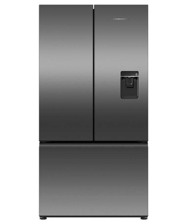 RF610ANUB5 - 614L French Door Fridge With Ice & Water, Handless - Black Stainless Steel