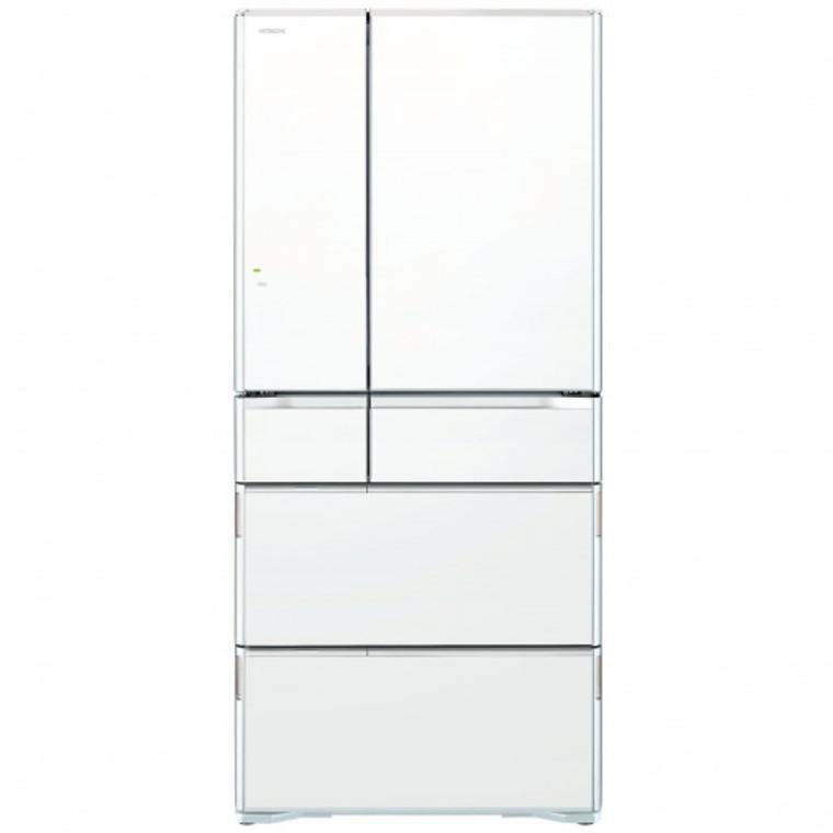 RWX620KAXW - 615L Multi Drawer 6 Door  French Door Fridge - White Glass