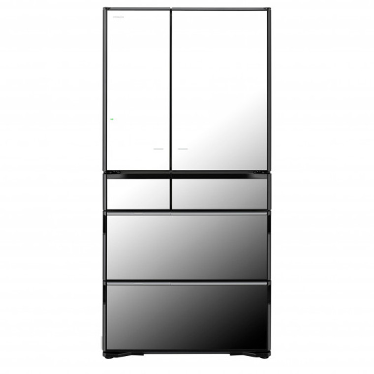 RZX740KAX - 735L Multi Drawer 6 Door French Door Fridge - Mirror Glass