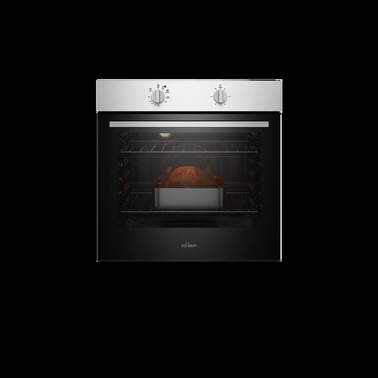 CVE612SB - 60cm Multifunction Oven - Stainless Steel