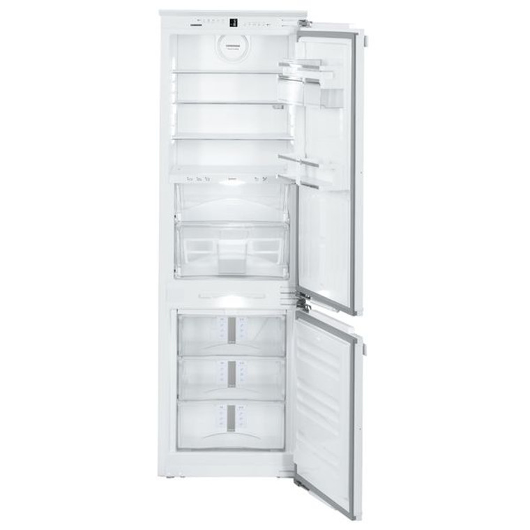 SICN 3366 - Premium 283L Integrated fridge-freezer with NoFrost, Right Hinge