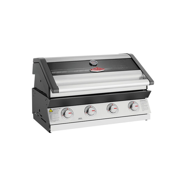 BBG1640SA -  Discovery 1600 Series Built In 4 Burner BBQ with Grills & Window Hood - Stainless Steel