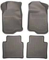 08-12 Chevy Malibu Front /2nd Floor Liners Grey